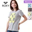 店内全品P5倍 ROXY ロキシー レディース 半袖 Tシャツ RST181101 ティーシャツ トップス クルーネック ロゴ 女性用