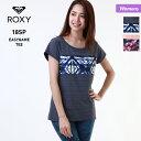 【キャッシュレス5%還元】 ROXY ロキシー レディース 半袖 Tシャツ ERJKT03403 ティーシャツ トップス クルーネック 女性用