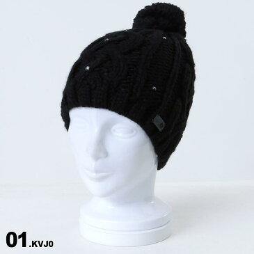 ROXY/ロキシー レディース ニット帽 シングル ERJHA03415 ビーニー 帽子 ぼうし ニットキャップ ポンポン付き スキー スノーボード スノボ 防寒 女性用