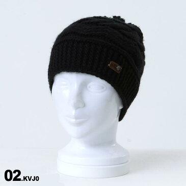 ROXY/ロキシー レディース ニット帽 シングル ERJHA03461 ビーニー 帽子 ぼうし ニットキャップ ポンポン付き スキー スノーボード スノボ 防寒 女性用