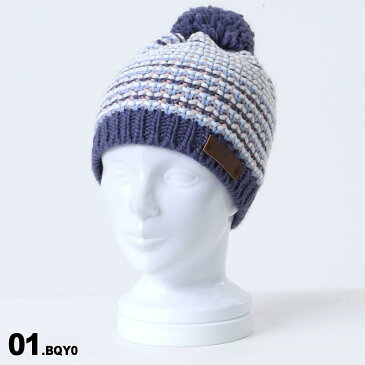 ROXY/ロキシー レディース ニット帽 シングル ERJHA03409 ビーニー 帽子 ぼうし ニットキャップ ポンポン付き スキー スノーボード スノボ 防寒 女性用