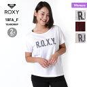全品5%OFF券配布中 ROXY ロキシー レディース 半袖Tシャツ&キャミソール 2点セット RST184505 ティーシャツ インナー フィットネス ヨガ ランニング カップ付き 女性用
