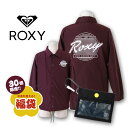 ROXY ロキシー 【先着50名様完全限定!】 ROXY 福袋 コーチジャケット & ニット帽 豪華 ...