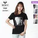 【キャッシュレス5%還元】 ROXY/ロキシー レディース 半袖 Tシャツ RST191176 ティーシャツ ロゴ クルーネック 白 ホワイト 黒 ブラック ピンク ネイビー 女性用