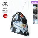 ROXY ロキシー レディース ナップサック ERJBP03834 ジムサック リュックサック かばん バッグ 鞄 1.3L 小物入れ 女性用 かわいい おしゃれ 人気
