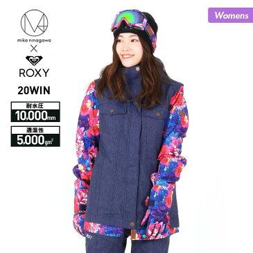全品5%OFF券配布中 ROXY/ロキシー レディース スノーボードウェア ジャケット 蜷川実花コラボモデル ERJTJ03246 スノーウェア スノボウェア スキーウェア スノージャケット 上 女性用