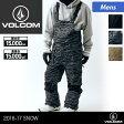 VOLCOM/ボルコム メンズ スノーボードウェア ビブパンツ G1351717 オーバーオール スノーウェア スノボウェア スノボーウェア スノボウエア スノーパンツ 下 男性用