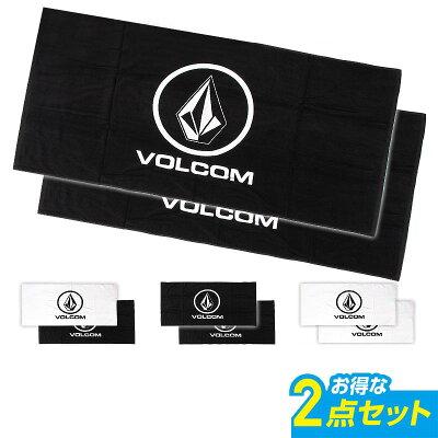 VOLCOM 大型ビーチタオル 2点セット D72216JC_2p