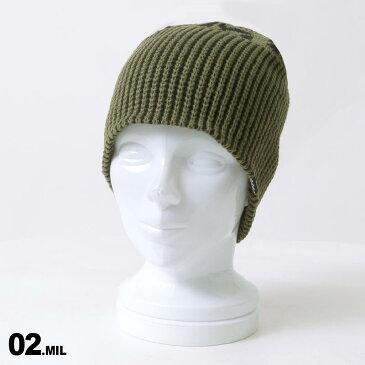 VOLCOM/ボルコム メンズ ニット帽 J5851909 シングル ビーニー ニットキャップ 防寒帽子 ぼうし スキー スノーボード スノボ 男性用