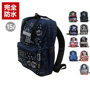 d2c0e881686b ... レスエイジ メンズ&レディース 防水リュックサック NLGOP700 バックパック デイパック ザック インサイドバッグ かばん 鞄 通勤  通学 男性用 女性用 アウトドア