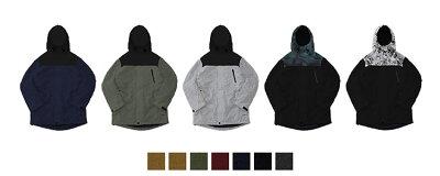 ジャケット6種 パンツ6種