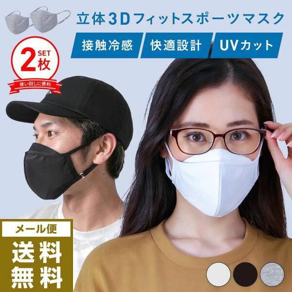 立体マスク 2枚SET