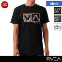 RVCA/ルーカ メンズ 半袖Tシャツ AG041-251 ティーシャツ プリント ロゴ 男性用