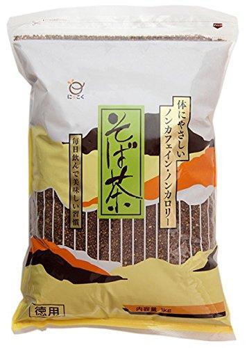 日穀製粉 そば茶 徳用1kgの商品画像