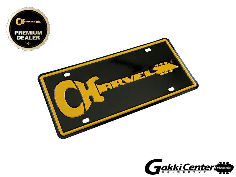 バッグ・小物・ブランド雑貨, その他 Charvel Logo License Plate