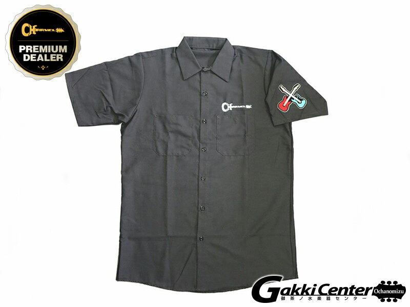 トップス, カジュアルシャツ Charvel Patch Work Shirt, Gray, Extra Large