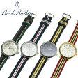 ブルックスブラザーズ 腕時計 BROOKS BROTHERS 全4色 リボンベルトウォッチ ナイロンベルト 取り替え可能 【アメトラ】