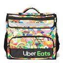 ウーバーイーツ バックパック Uber Eats Delivery Bag 宅配バッグ 保冷 保温 リュックサック 海外限定 アーティストデザイン Melanie
