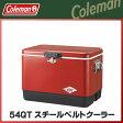 Coleman(コールマン) 54QTスチールベルト クーラー(レッド/ブラック) クーラーボックス