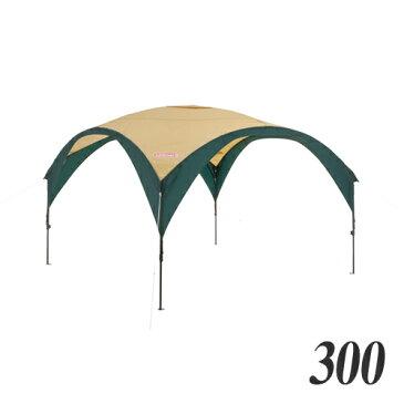 コールマン(Coleman) テント・タープ パーティーシェードDX/300 (グリーン/ベージュ) 2000033122 キャンプ アウトドア