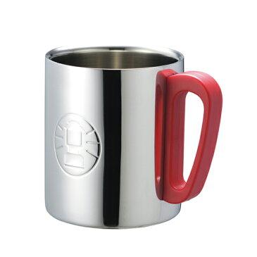 コールマン(Coleman) マグカップ・コップ ダブルステンレスマグ 300 (レッド) 170-9484 調理用品 食器類 キャンプ アウトドア
