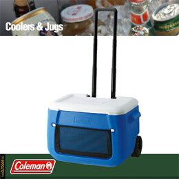 Coleman(コールマン)/パーティースタッカーホイール付/50QT/(ブルー)/クーラーボックス