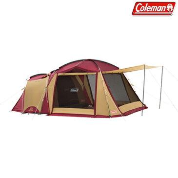 コールマン(Coleman) テント・タープ タフスクリーン2ルームハウス (バーガンディ) 2000032598 キャンプ アウトドア