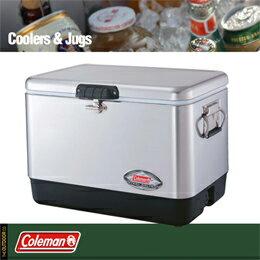 Coleman(コールマン)/54QT/ステンレススチールベルト/クーラー/(シルバー)/クーラーボックス