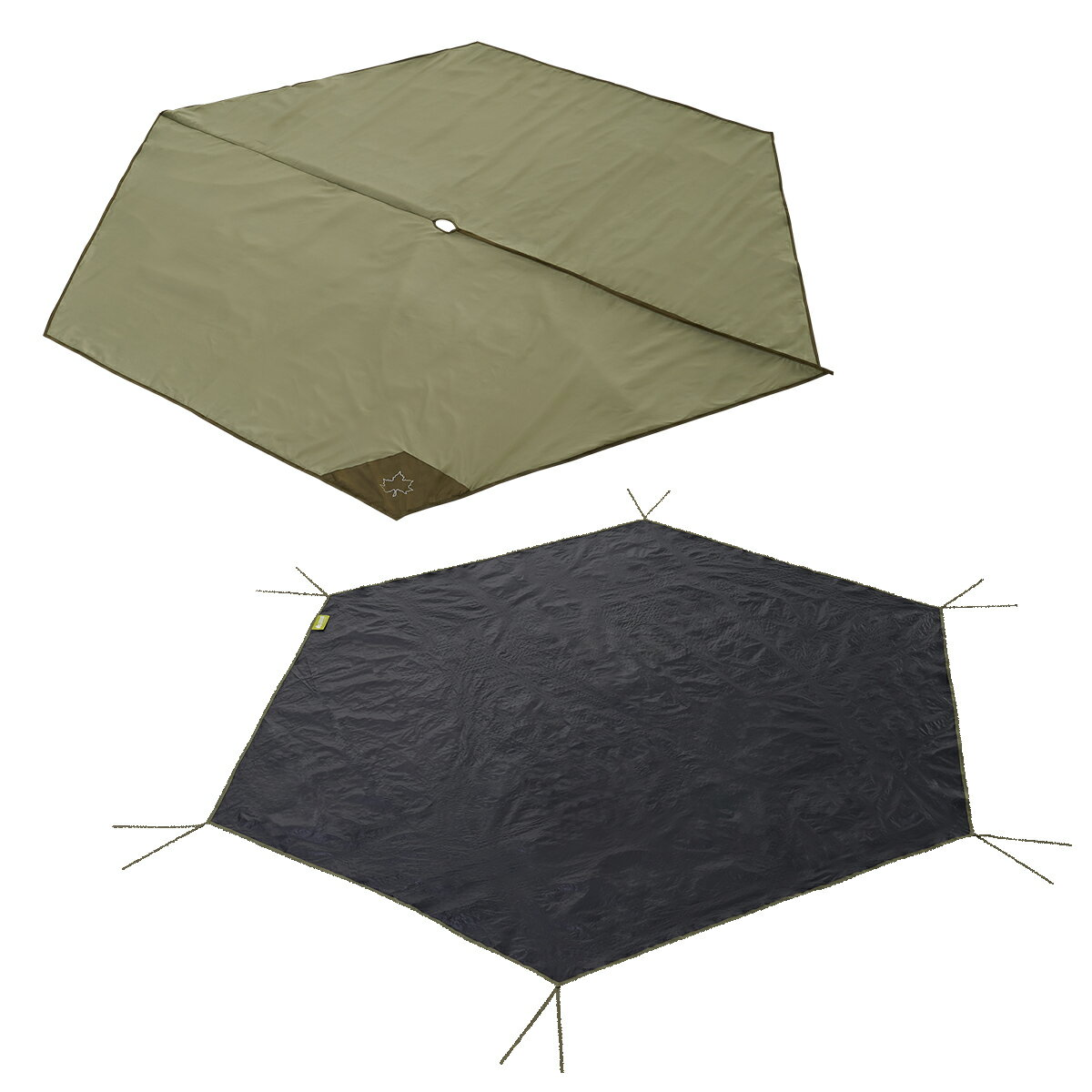 ロゴス(LOGOS)グランドシートTepeeマット&シート30071809720テントタープ用品キャンプアウトドア