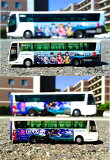 バスコレクション小田急箱根高速バス ヱヴァンゲリヲンラッピングバス2号機運行記念セット