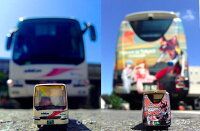 バスコレクション小田急箱根高速バスヱヴァンゲリヲンラッピングバス2号機運行記念セット