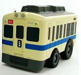 2段階走行スピードギア搭載!プルバックトレイン 5000形通勤車両