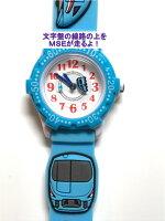 【キッズ用腕時計】MSEトレインデコウォッチ