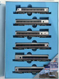 A6596小田急ロマンスカー・EXEα(30000形)Nゲージ鉄道模型基本6両セット(TRAINS購入特典付)