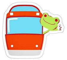 贈り物にもおすすめな!かえるのピクルス(picklesthefrog)×ロマンスカーGSEVer