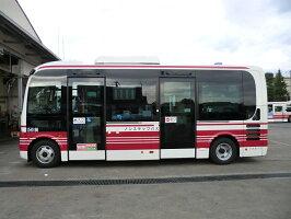 日野タウンバスのミニチュアモデル【日野ポンチョ(KATO)】150/1スケールモデル2台セット