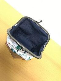【和布華の和小物】小田急ロマンスカーGSE3.3寸ガマ口ポーチ(L)