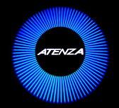 MAZDA マツダ アテンザ 型式GJ プロジェクターウエルカムライト 2個セット ATENZAロゴ