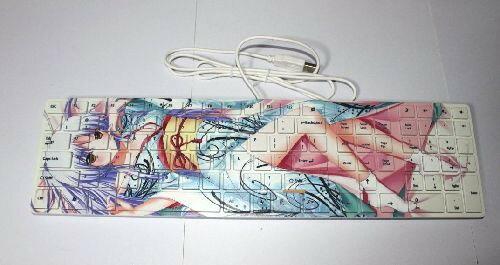 Angel Beats エンゼルビーツ アニメ キーボードパソコン 周辺機器 マウス マウスパッド パッド おしゃれ 萌え画像
