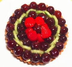 ぶどうのタルト16cm(5号)バースデーケーキ誕生日ケーキに!季節のタルトです。