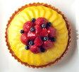 とろけるマンゴーといちごのタルト19cm( 6号)バースデーケーキ 、誕生日ケーキに! 大切な記念日にも! ☆ バースデイケーキ ☆