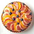 期間限定! イチジクのタルト 直径16cm、お誕生日ケーキ、バースデーケーキ、記念日。
