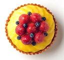 バースデーケーキ フルーツケーキ 誕生日ケーキ 記念日ケーキ とろけるマンゴーといちごのタルト16cm(5号) お誕生日ケーキ、バースデーケーキ用に! 大切な記念日にも! 【バースデイケーキ】