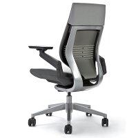 [Steelcase]Gesture(ジェスチャー)【ランバーサポートスライダー付】背シート:3Dニット/座シート:クロス/360アーム:フルアジャスタブル(可動肘)/ラップバック/フレーム:ダーク/ベース:ライト【宅配便送料無料】EGP/05P30May15