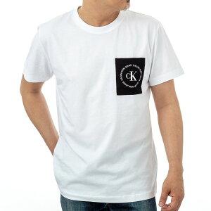 カルバンクライン Tシャツ J30J314761YAF メンズ ホワイト Calvin Klein カルバンクライン・ジーンズ レギュラーフィット 半袖 誕生日 プレゼント