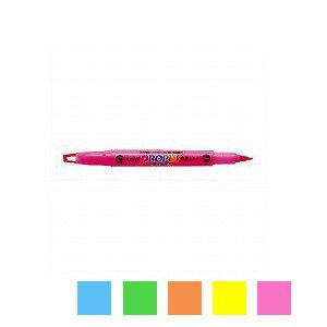 水性 蛍光ペン プロパスウインドウ 太字 4.0mm / 細字0.6mm 1本 三菱鉛筆 EC-PUS102T
