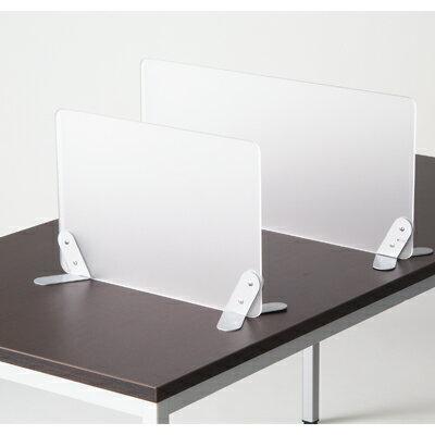 【送料無料】デスク用サイドスクリーンデスクトップパネル間仕切り幅648mm/MD-3目隠しサイドパネルスクリーンパネルおしゃれ事務机オフィスデスク机会議テーブル