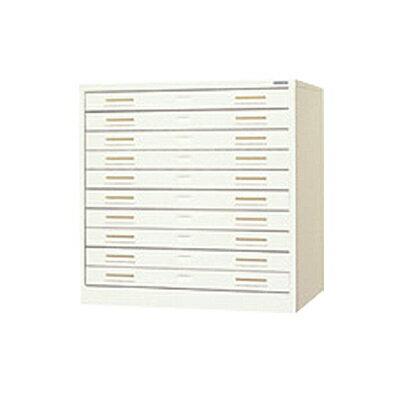 スチール製 ペーパーケース 書類整理ケース A2 10トレー:激安オフィス家具オフィスコム