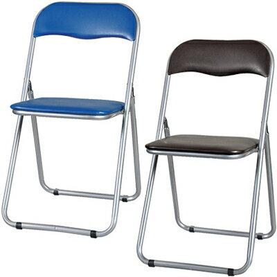 パイプイス4脚セット/YH-31N 折りたたみ椅子 折り畳み椅子...