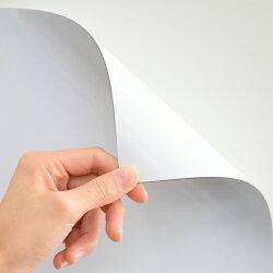 ピタッと吸着シート(吸着式ホワイトボードシート)罫線入り(行動予定)マグネットマーカー(黒・赤)・トレイ・イレーザー付き磁石対応420×300mm